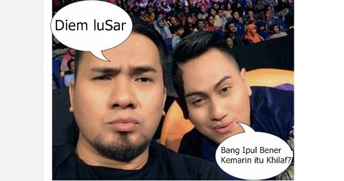 Meme Saipul Jamil dan Nassar