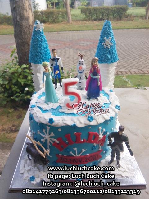 Kue Tart Frozen Dengan Castil