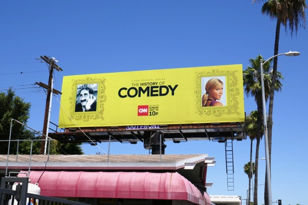 History of Comedy season 2 billboard