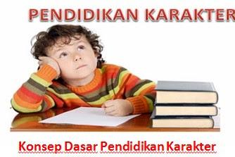 Konsep Dasar Pendidikan Karakter