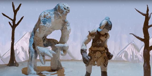 Skyrim Special Edition recuerda sus mejores momentos con plastilina