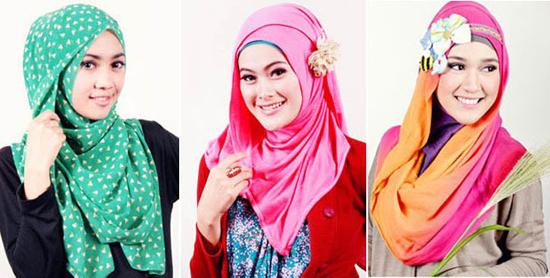 Cara Tips Memilih Hijab Yang Sesuai Bentuk Wajah Merah