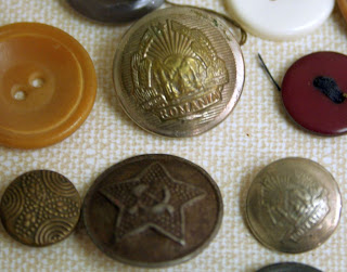 Vintage buttons: Military Uniform :: All Pretty Things