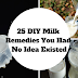 25 DIY Milk Remedies You Had No Idea Existed