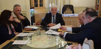 Σύμβαση για ανάπλαση της εισόδου του Μελιγαλά υπέγραψε ο Π. Τατούλης