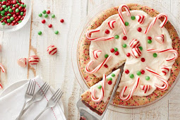 Christmas Sugar Cookie Pie