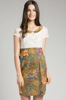 10 Model Cantik Dress Batik Modern Terbaru  Hey Beiby