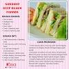 Koleksi Resepi Sandwich Yang Sesuai Dijadikan Sarapan