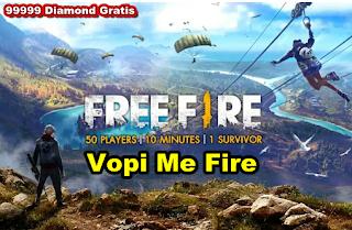 Vopi.me/fire cara untuk mendapatkan diamond dan coins Free fire secara gratis
