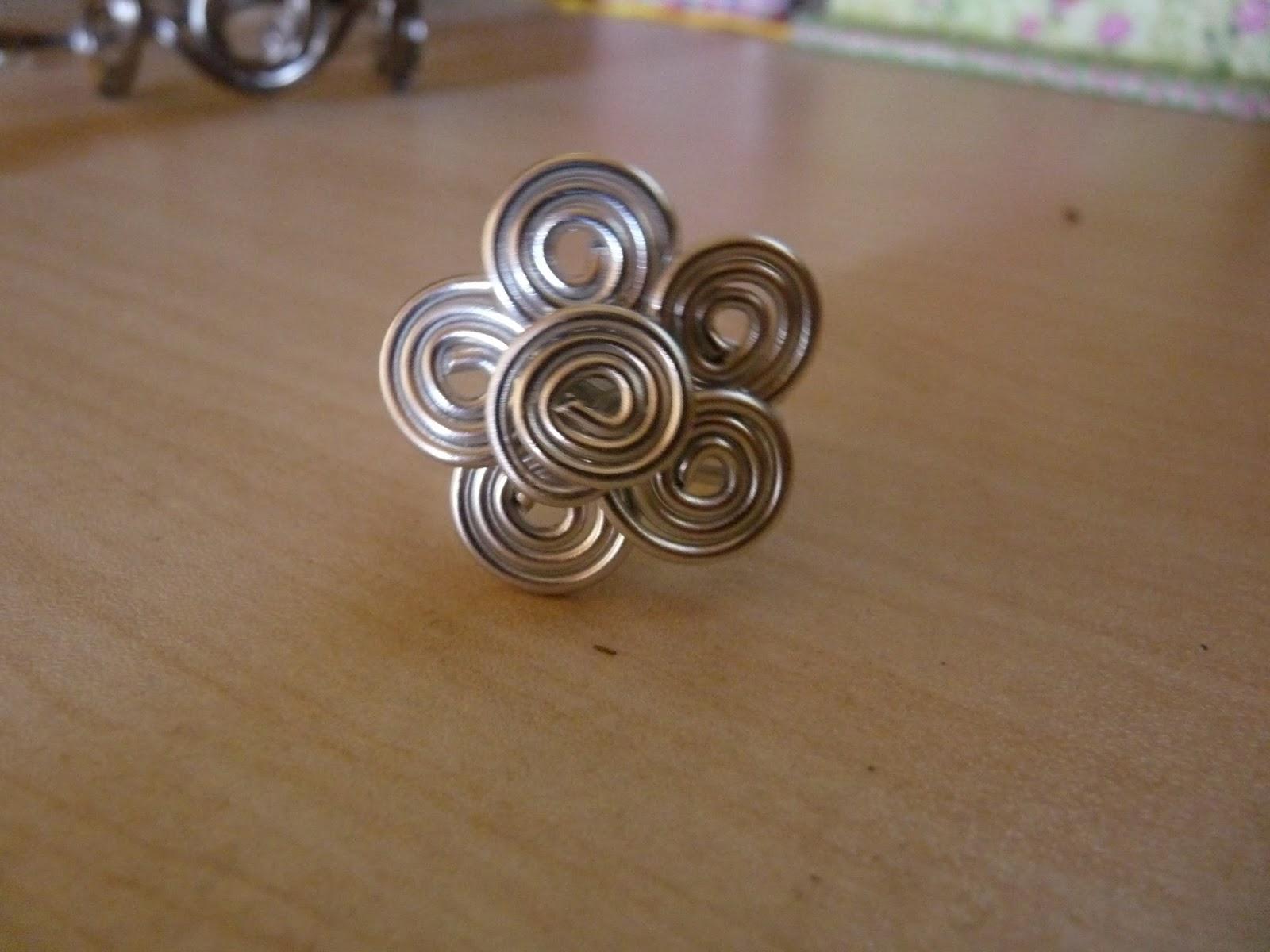 Bien-aimé L'Atelier de créations: mes bijoux en fil d'aluminium KZ59