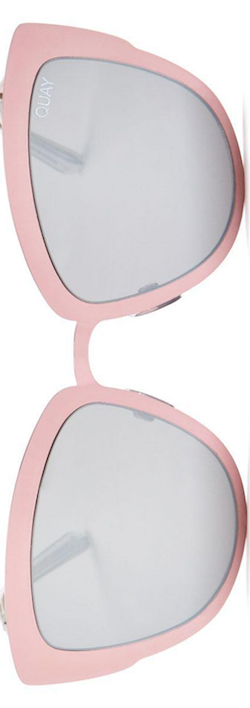 Quay Supergirl Mirrored Cat Eye Sunglasses, 55mm