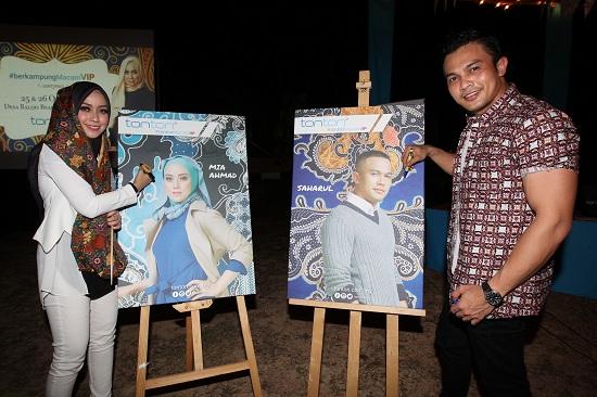 TONTON Macam VIP Bersama Saharul Ridzwan Dan Mia Ahmad