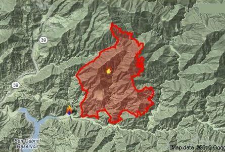 Dan's Hiking Blog: Williams Fire 2012