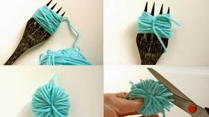 Cómo hacer pompones de lana - 5 explicaciones