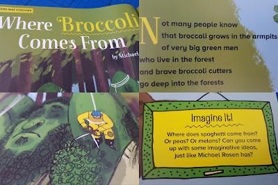 Michael Rosen Broccoli poem