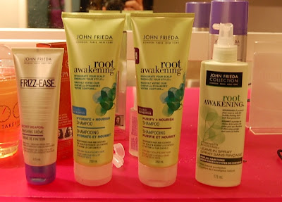 John Frieda Root Awakening line