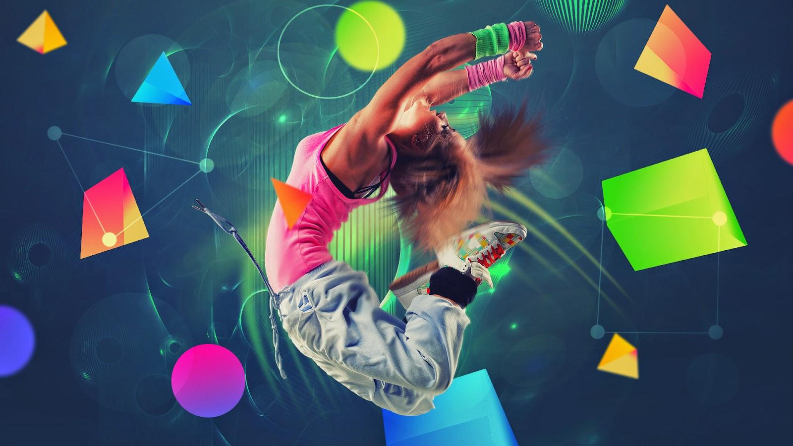 3d Girl Dance Hd Wallpapers: Any Body Can Dance: Hip-hop Dance Wallpapers