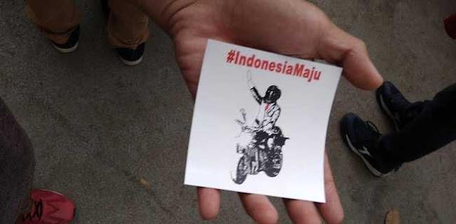 Ada Stiker Jokowi Di Penutupan Asian Games, Kampanye?