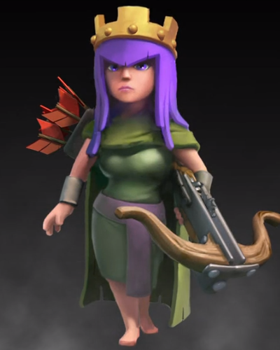 Archer Queen ~ Clash of Clans Tactics