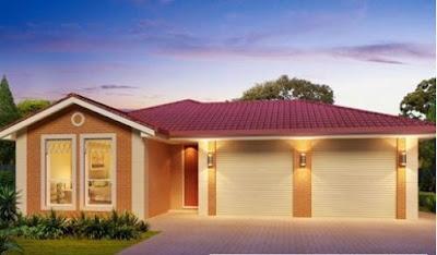 Type Rumah Minimalis 1 Lantai 3 Kamar Dengan 2 Garasi