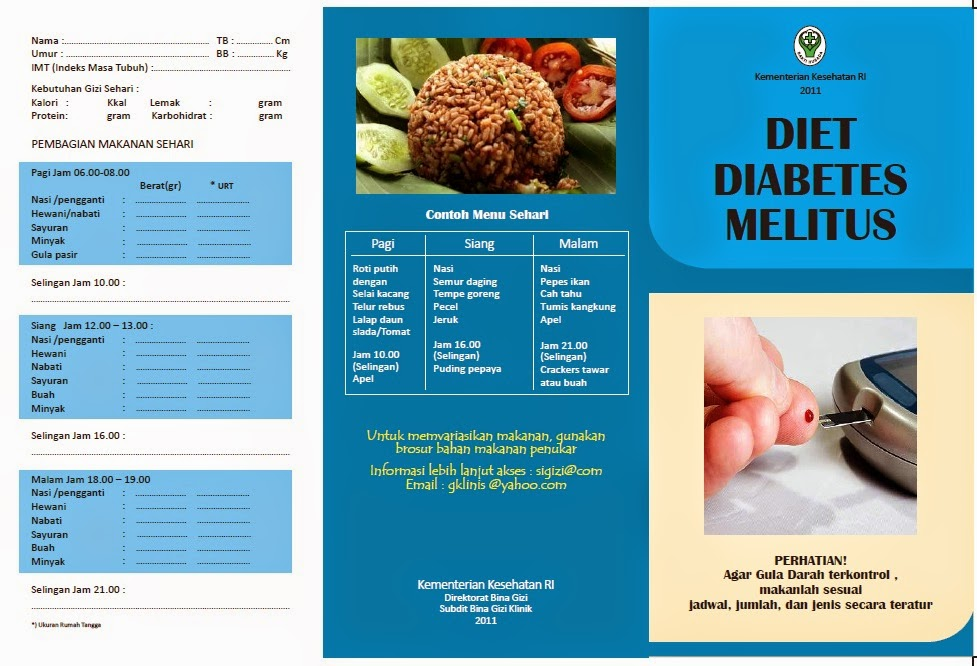 Patient Information Leaflet On Diabetes 2019