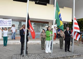Vice-governadora abre programação da Semana da Pátria
