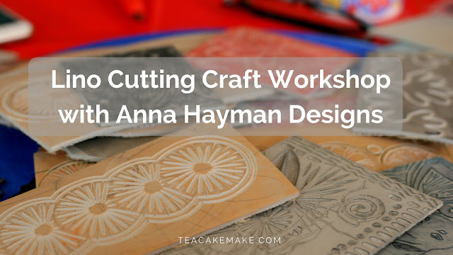 lino cutting workshop anna hayman