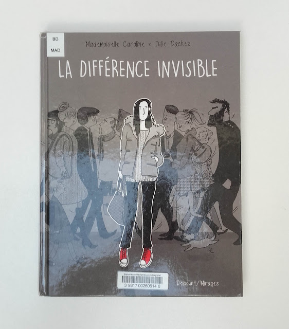 la difference invisible - delcourt