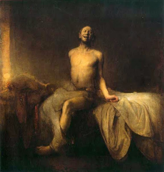 Odd Nerdrum, Macabre Art, Macabre Paintings, Horror Paintings, Freak Art, Freak Paintings, Horror Picture, Terror Pictures