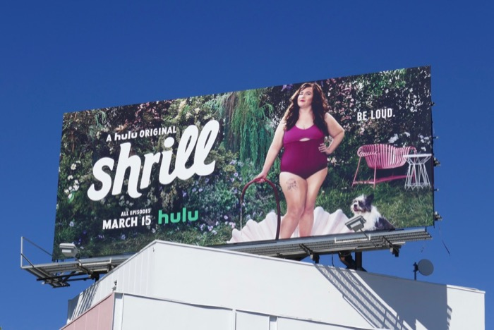 Shrill series premiere billboard