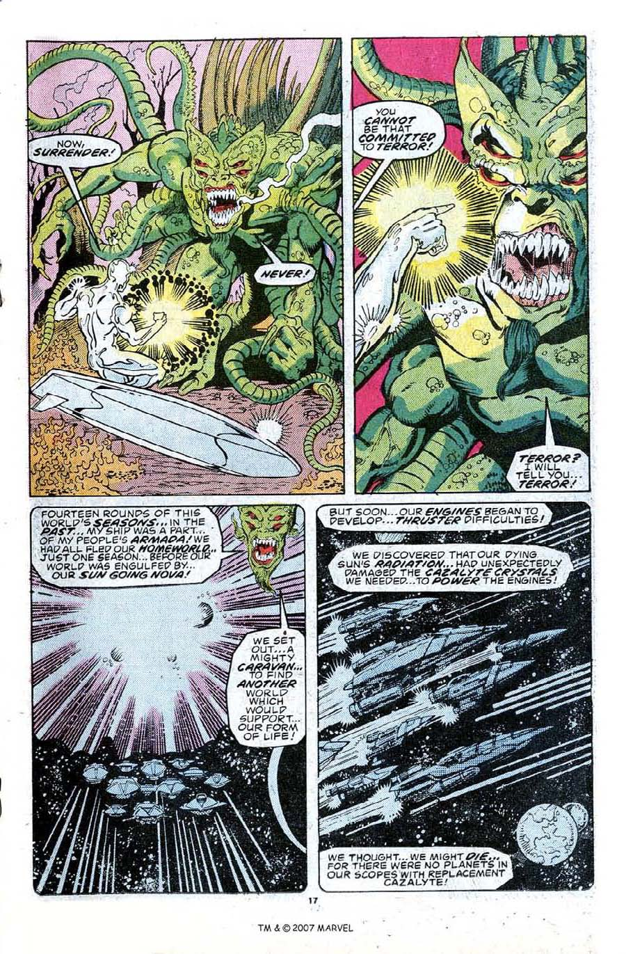 Read online Silver Surfer (1987) comic -  Issue #23 - 19