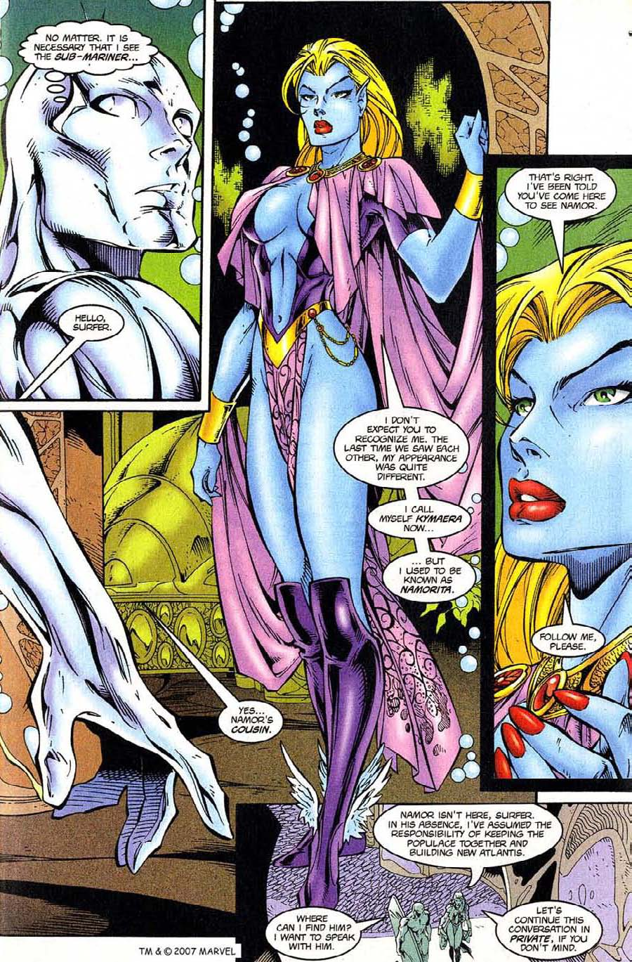 Read online Silver Surfer (1987) comic -  Issue #124 - 5