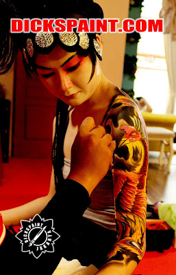 Body Painting Phoenix Indoensia Jakarta