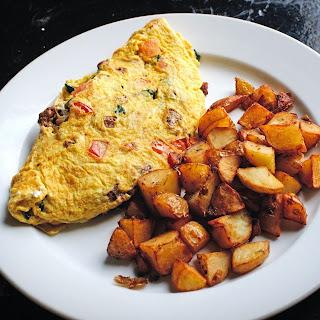Homemade Easy Cheese Omelette