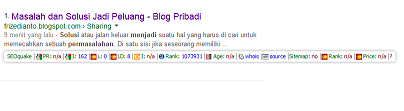9 Menit Artikel Terindex Google
