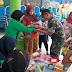 Peduli Kesehatan Anak, Babinsa Tekung Lumajang Bantu Pelaksanaan Posyandu