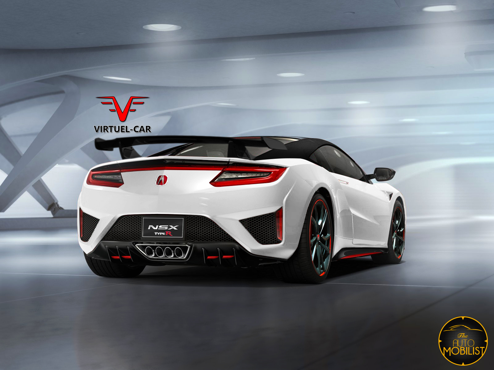 what about this new acura honda nsx type r render carscoops. Black Bedroom Furniture Sets. Home Design Ideas