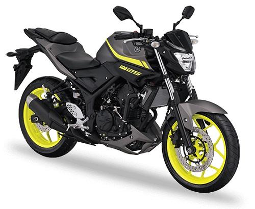 Yamaha MT25 motor 250 cc terbaik