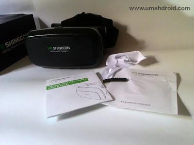 Unboxing VR Shinecon Paket Penjualan