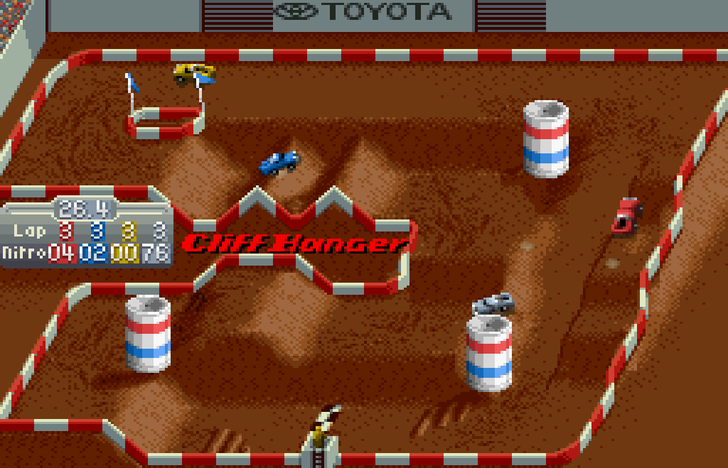My all time favourite video games: Super Off Road - Nintendo