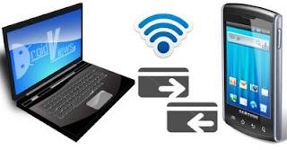نقل الملفات لاسلكيًا بين الأندرويد والكمبيوتر