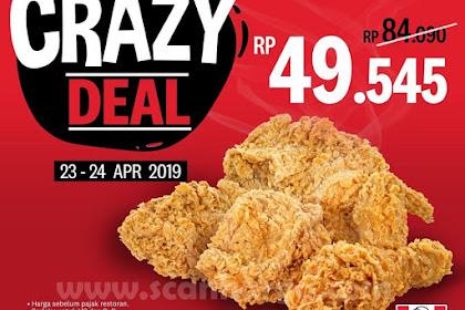 Promo KFC Big 5 Crazy Deal Harga 5 Pcs Ayam Rp 49.545 Solusi Akhir Bulan