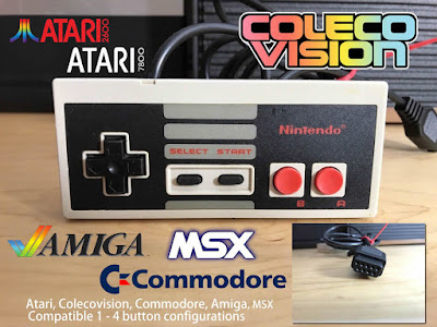 Atari Mods: We Review A Modded NES Controller On The Atari Flashback