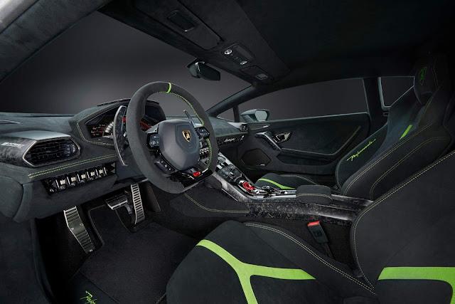 Lamborghini Huracán Performante - interior