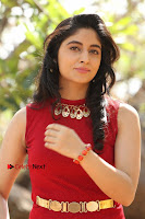 Telugu Actress Zahida Sam Latest Pos in Red Gown at RF Films New Movie Opening  0173.JPG