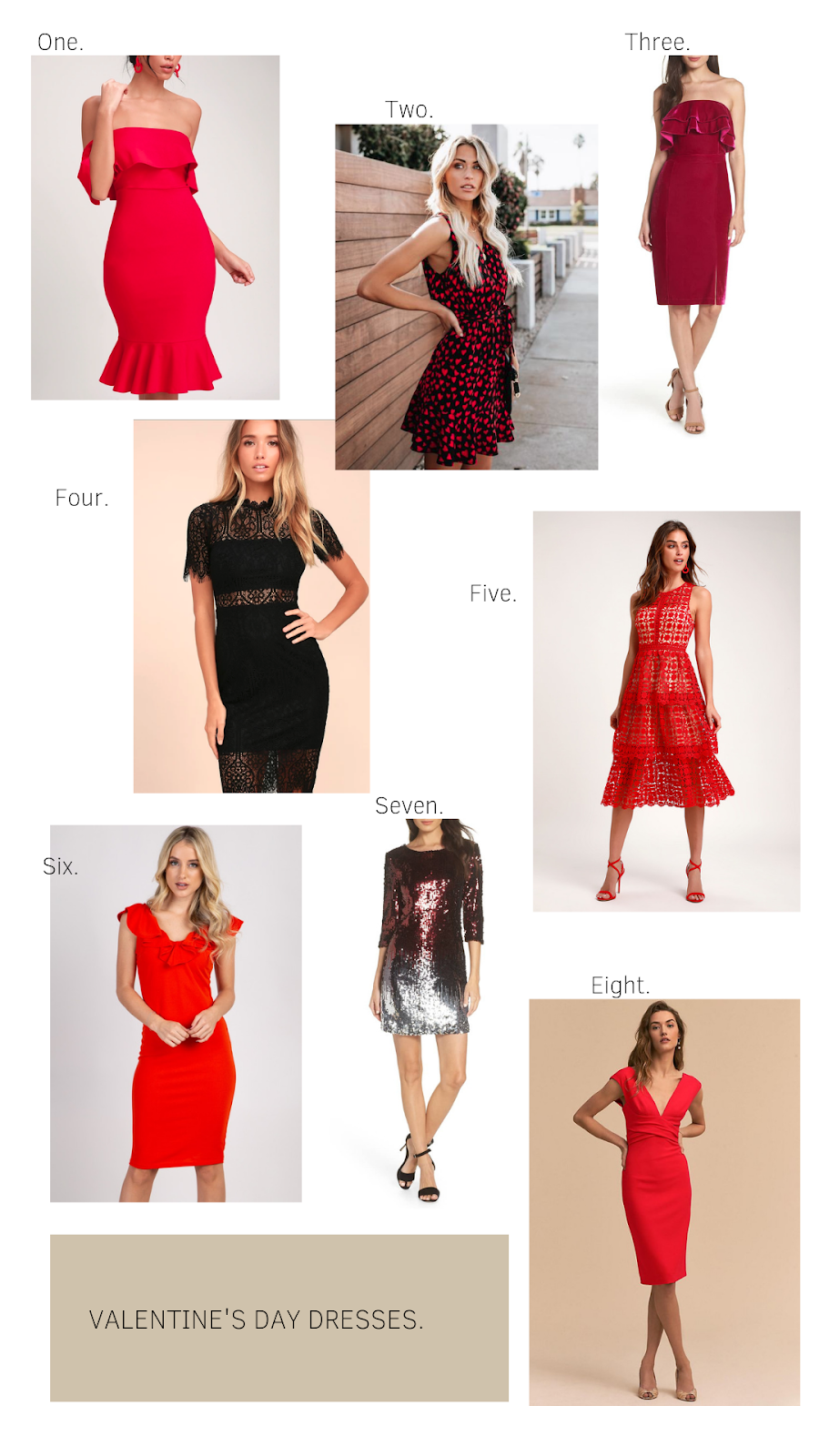 Valentine's Day Dress Guide