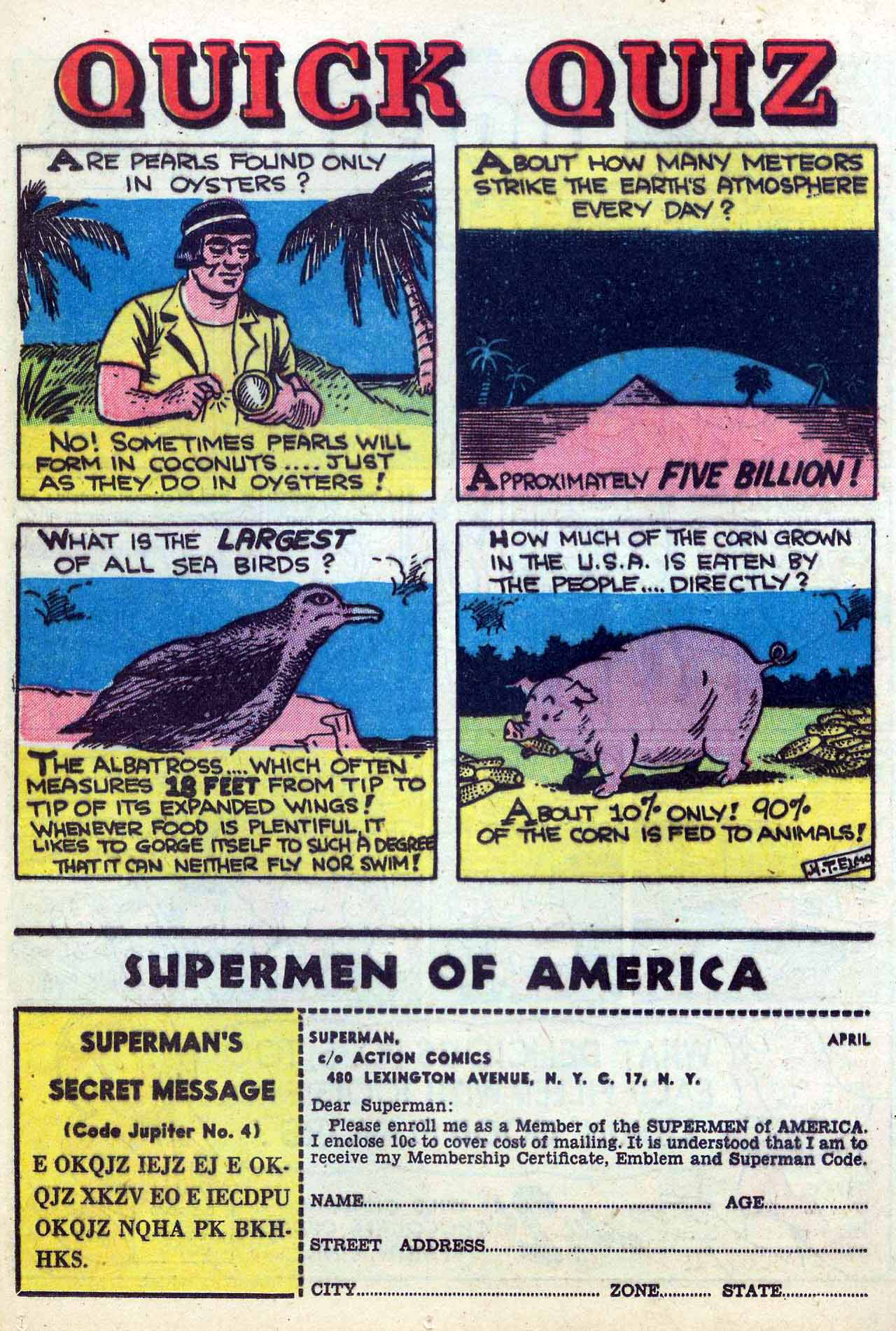Read online Action Comics (1938) comic -  Issue #155 - 34