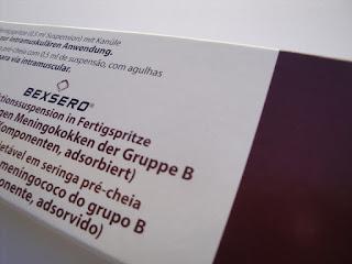 Bexsero®, febre e outras reações