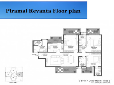 Piramal Revanta Floor plan