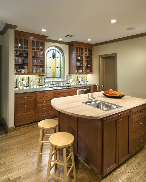 Today S Arts Crafts Kitchens: Not Just Plain Jane: Rebirth Of An Arts & Crafts Style Kitchen